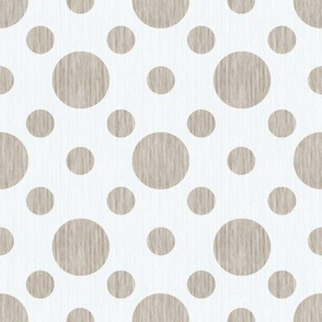 French linen bubbles - Antique White