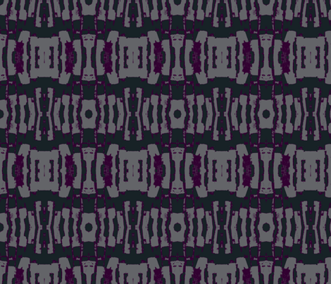Palette Palette / GrayPurple fabric by relative_of_otis on Spoonflower - custom fabric