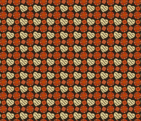 Red Velvet Cakes fabric by eppiepeppercorn on Spoonflower - custom fabric