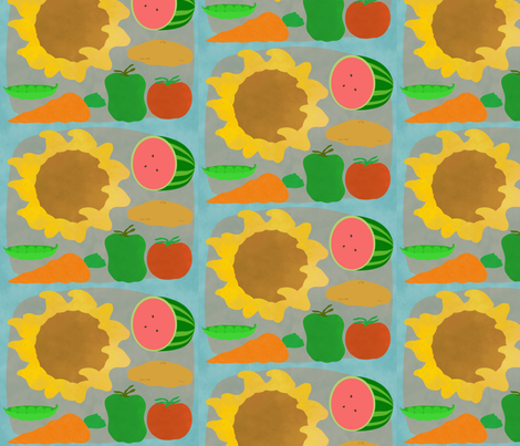 Garden Harvest fabric by oranshpeel on Spoonflower - custom fabric