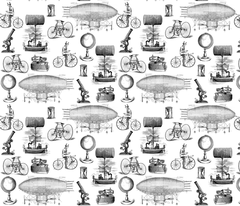 Steampunk fabric by victoriagolden on Spoonflower - custom fabric