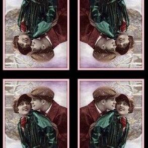 Darling, it's snowing-framed