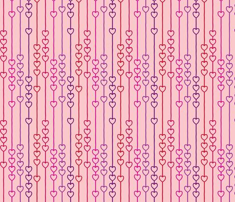 Dyslexic Heart fabric by leighr on Spoonflower - custom fabric