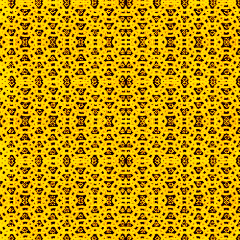 sunshine yellow fabric by whimzwhirled on Spoonflower - custom fabric