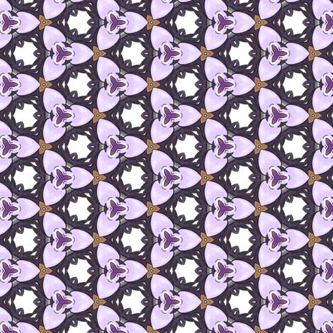 Hinako's Trillium fabric by siya on Spoonflower - custom fabric