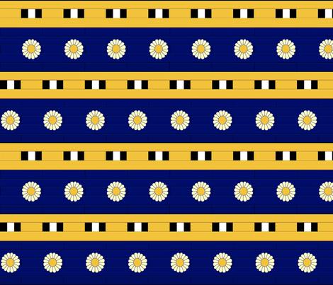 Ishtar Tile fabric by queeninmyownmind on Spoonflower - custom fabric