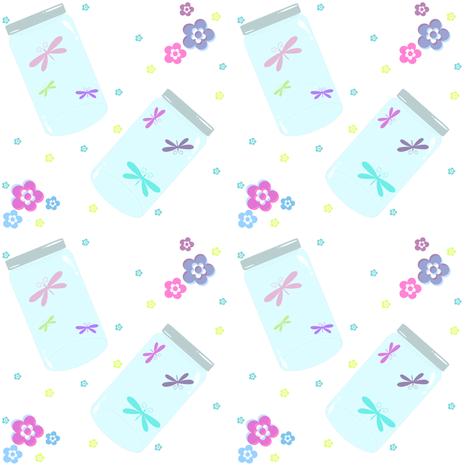 Caught Up Dragonflies! - © PinkSodaPop 4ComputerHeaven.com fabric by pinksodapop on Spoonflower - custom fabric