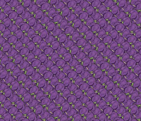 Iris madness fabric by hannafate on Spoonflower - custom fabric