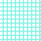 Chained by Boxes-Turquoise