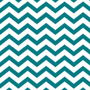 chevron dark teal