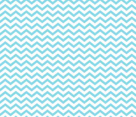 chevron sky blue fabric by misstiina on Spoonflower - custom fabric