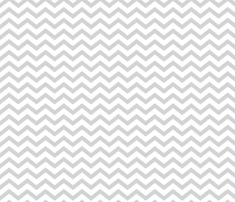 chevron light grey fabric by misstiina on Spoonflower - custom fabric