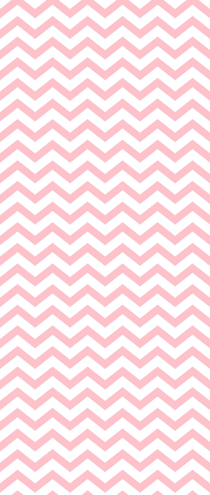 Chevron Light Pink Wallpaper