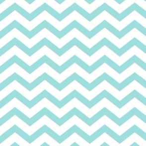 chevron light teal