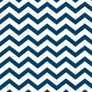 chevron navy blue