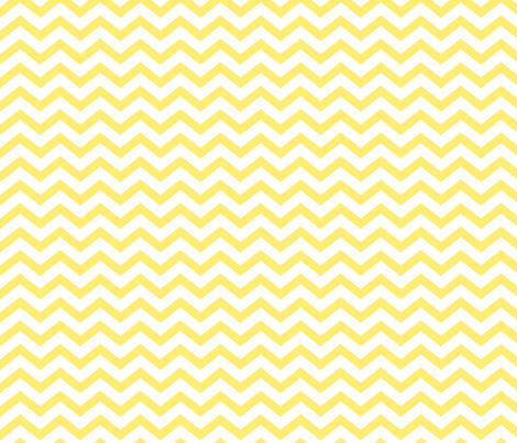 chevron lemon yellow fabric by misstiina on Spoonflower - custom fabric