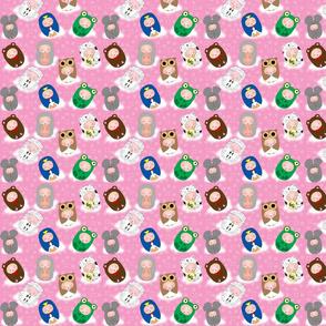 Baby-buus Pink