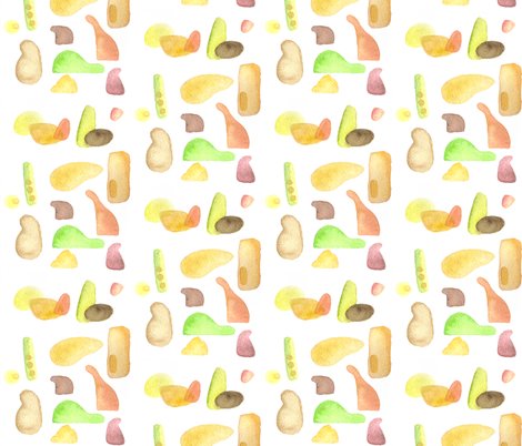 gummi fabric by ma0 on Spoonflower - custom fabric