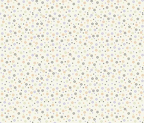 Halloween Stars fabric by jpdesigns on Spoonflower - custom fabric