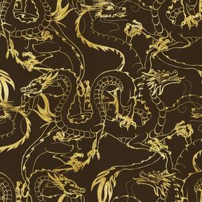 Gold Dragons