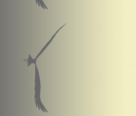 Eagles 10, Border fabric by animotaxis on Spoonflower - custom fabric