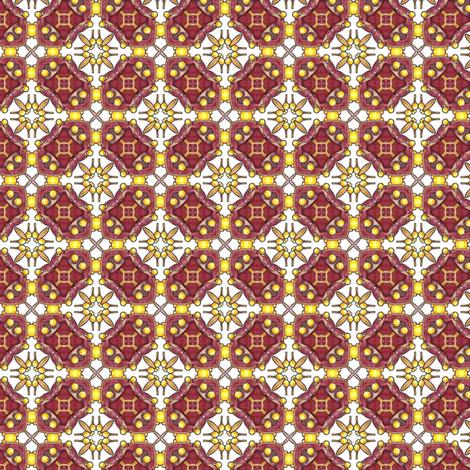 Mystic Gate fabric by siya on Spoonflower - custom fabric