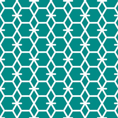 Tortoiseshell 2A (Green) fabric by nekineko on Spoonflower - custom fabric