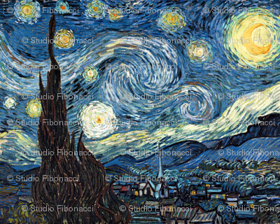 Van Gogh - The Starry Night (1889) (20x24)