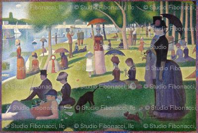 Seurat - Sunday Afternoon on the Island of La Grande Jatte (1886)