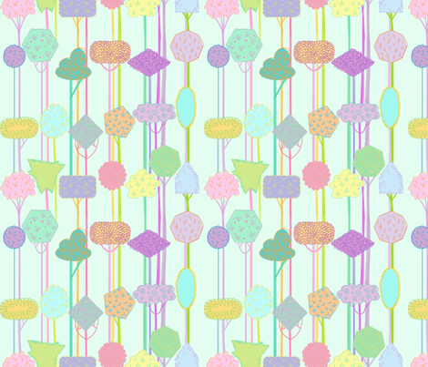 tree_pattern fabric by spicysteweddemon on Spoonflower - custom fabric