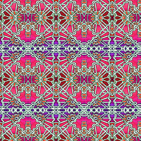 Macrame Gardens fabric by edsel2084 on Spoonflower - custom fabric