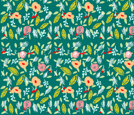 winter fabric by tamptation on Spoonflower - custom fabric