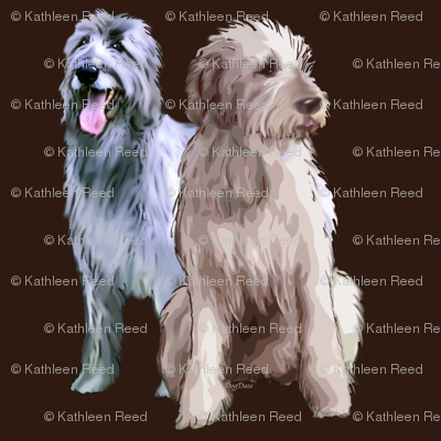 Irish Wolfhounds..the King Of Dogs