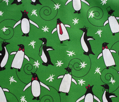 A Merry Penguin Christmas (Green)