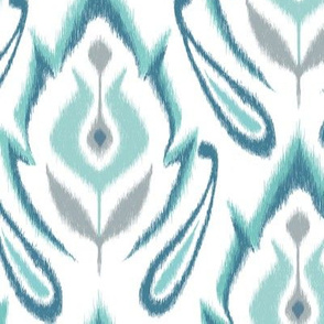 Cool Blue IKAT