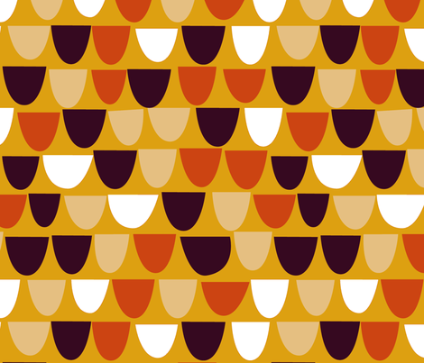 Autumn Bowls of Plenty fabric by gsonge on Spoonflower - custom fabric