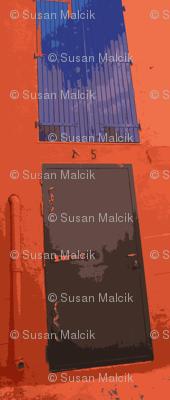Black Door, Blue Window-variation on the theme