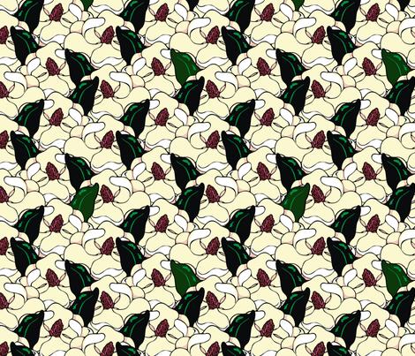 magnolia fabric by hannafate on Spoonflower - custom fabric