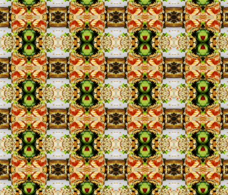 sushi plaid fabric by codalion on Spoonflower - custom fabric