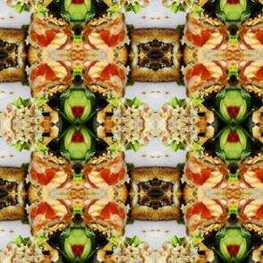 sushi plaid