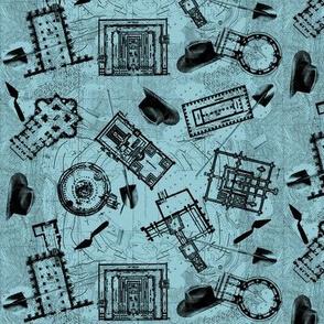 archaeologists - blueprint
