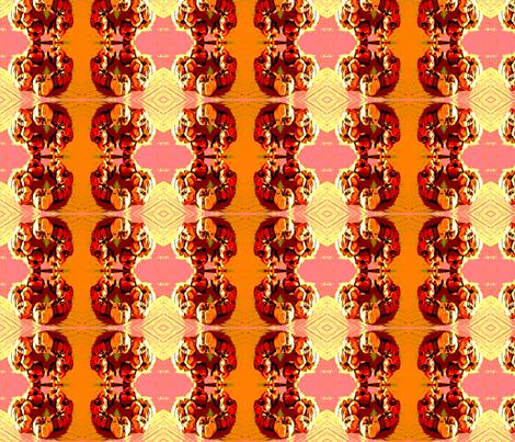 pumpkin_wreath fabric by vinkeli on Spoonflower - custom fabric