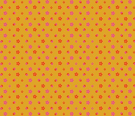 Acorn Dot fabric by acbeilke on Spoonflower - custom fabric
