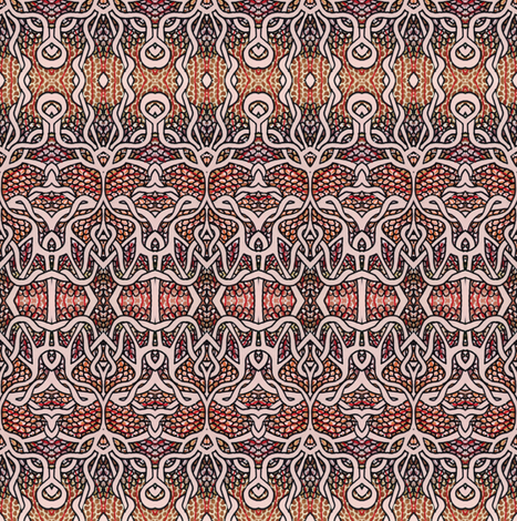 Gothique Nouveau fabric by edsel2084 on Spoonflower - custom fabric