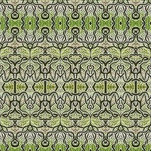 Gothique Nouveau (alligator skin)