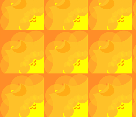 Brick_Sunny_Wave_Brick fabric by pd_frasure on Spoonflower - custom fabric