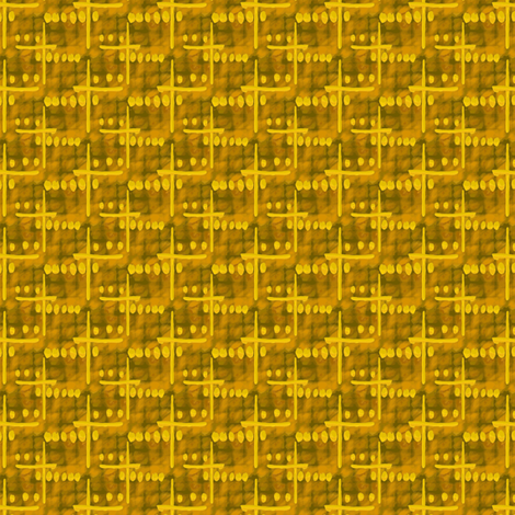 Coded Message fabric by donna_kallner on Spoonflower - custom fabric