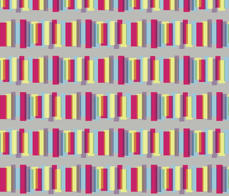 Prism in Rainbow Bright fabric by bluenini on Spoonflower - custom fabric