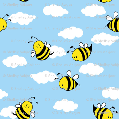 Bees in the Clouds
