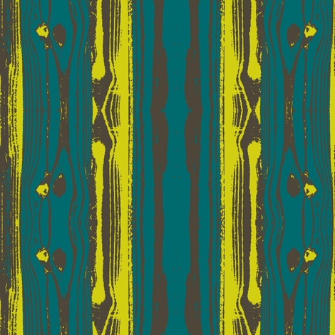 Woodgrain in Peacock fabric by bluenini on Spoonflower - custom fabric
